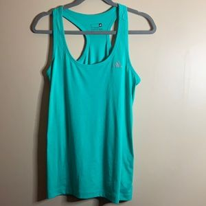 Adidas Green Tank Top Small